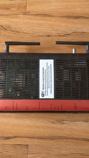 Verizon Actiontec Modem and wifi router for Sale in Fairfax, VA