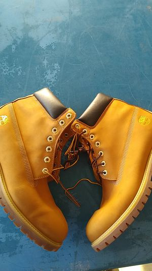 Timberland work boots size 12M men's for Sale in Bloomington, CA