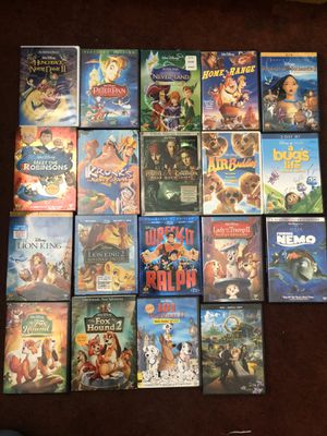 Disney dvds for Sale in Chino, CA