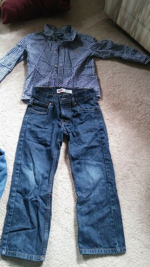 Kids clothes size 7 shirt size 8 reg pants for Sale in Rockville, MD