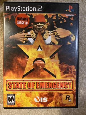 PS2 - State of Emergency (USED) for Sale in Cary, NC