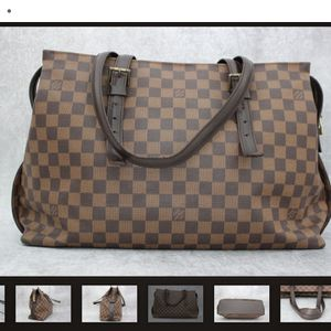 Louis vuitton damier Ebene Chelsea Bag,Authentic for Sale in Frierson, LA