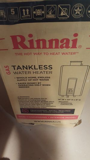 RINNAI RL75 TANKLESS WATER HEATER for Sale in San Diego, CA
