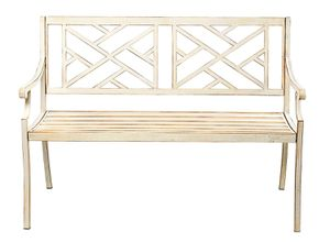 """48"""" Patio Garden Bench Park Yard Outdoor Furniture Steel Frame Porch Chair Seat for Sale in Monrovia, CA"""