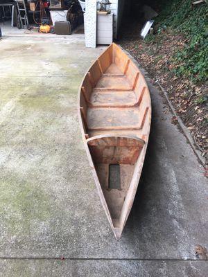 Wooden canoe for Sale in Atlanta, GA