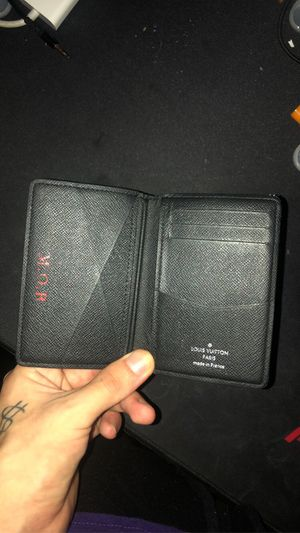 Authentic Louis Vuitton mob initials wallet for Sale in Miami Beach, FL