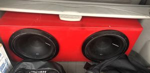 12 inch fosgate subs for Sale in San Angelo, TX