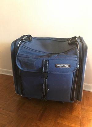 Fiskars large scrapbooking bag on wheels for Sale in Deerfield Beach, FL