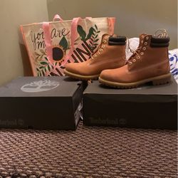 Two Pair Of Timberland Boots Size 9 In Box Never Worn for Sale in Boothwyn,  PA