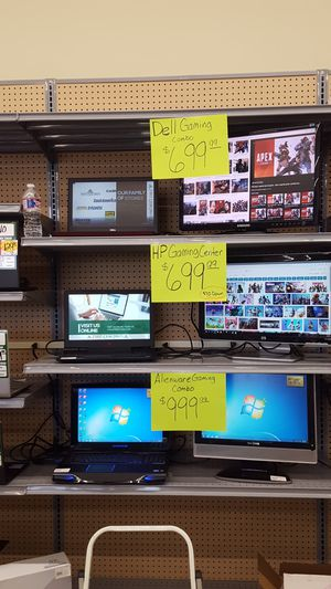 Gaming laptop and monitor combos for Sale in Dallas, TX