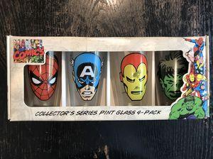 Marvel Avengers pint glasses for Sale in Leander, TX