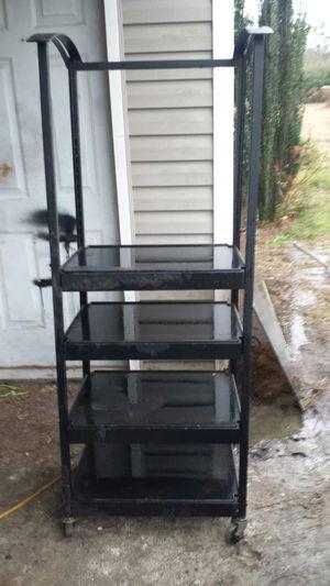 Rolling adjustable shelves for Sale in Garden City, GA