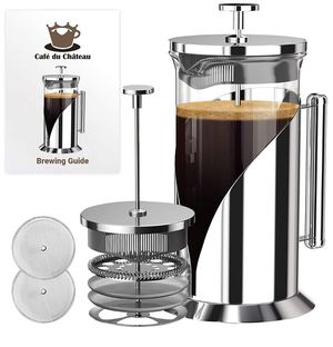 French Press Coffee Maker (34 Ounce) by Cafe Du Chateau for Sale in Lancaster, CA