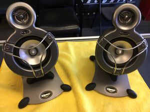 Klipsch ProMedia GMX A-2.1 Satellite Speakers (only) no Subwoofer or wiring for Sale in San Diego, CA