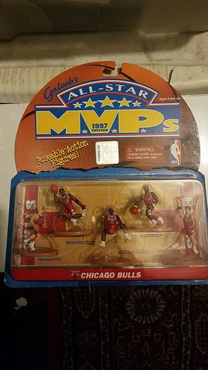 Chicago Bulls All-star MVP'S 1997 Galoob's for Sale in Los Nietos, CA