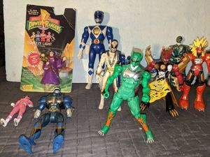 Vintage Power Ranger Action Figures Lot Bandai New in Box Figure for Sale in Beaverton, OR