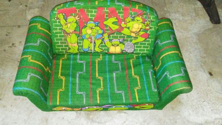 Ninja Turtle pull out bed couch for Sale in Lithonia,  GA