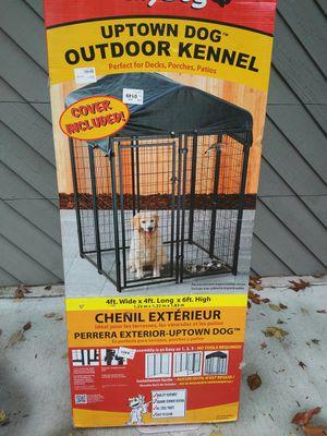Dog Kennel - outdoor. New-Still in Box for Sale in Smyrna, GA