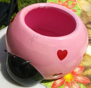 Pink Lady Bug~What Ever Mini Vase for Sale in Kissimmee, FL