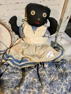Antique, rag doll, Black Americana, Collectible, Toys for Sale in Duncanville, TX