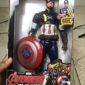 Captain America Avengers Age Of Ultron Toy for Sale in Perris, CA