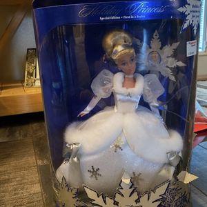 Holiday Princess Cinderella barbie for Sale in Bradenton, FL
