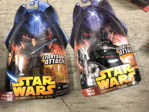 Star Wars toys on card action figure toys for Sale in Glendale, CA