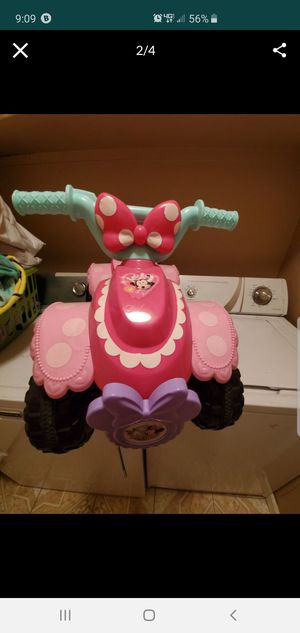 Minnie mouse quad for Sale in Tracy, CA