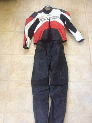 AlpineStar leather women's Motorcycle gear(jacket & pants) for Sale in Boca Raton, FL