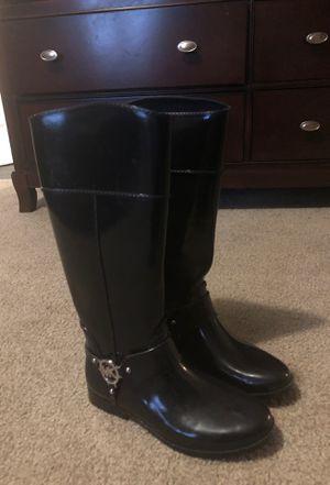 Michael Kors rain boots for Sale in Creedmoor, NC