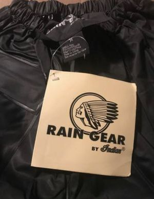 RAIN GEAR BY INDIAN MOTORCYCLES MEN'S MEDIUM PANTS NEW for Sale in Lighthouse Point, FL