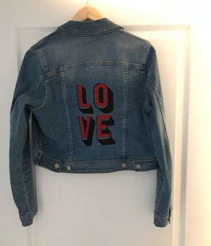 Seraphine maternity cropped jean jacket for Sale in Fort Lauderdale, FL