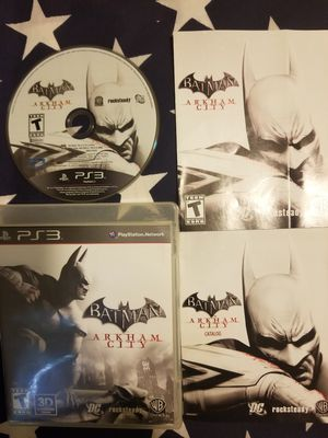 Batman Arkham City (PS3) for Sale in US