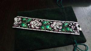 Antique Rose Style Swarovski crystals bracelet for Sale in Las Vegas, NV