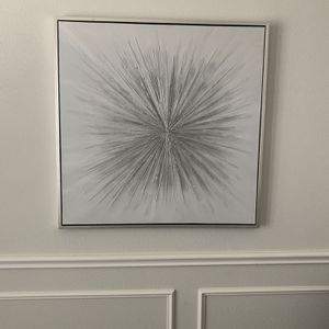 Silver Starburst Picture for Sale in Garland, TX