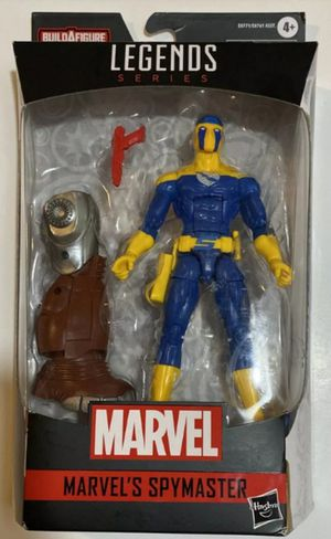 Marvel Legends Spymaster Collectible Action Figure Toy with Crimson Dynamo Build a Figure Toy for Sale in Chicago, IL
