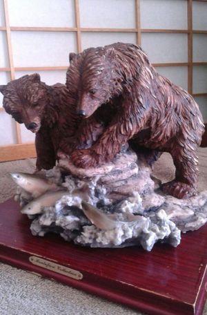 Bears Fishing Statue for Sale in Arlington, TX