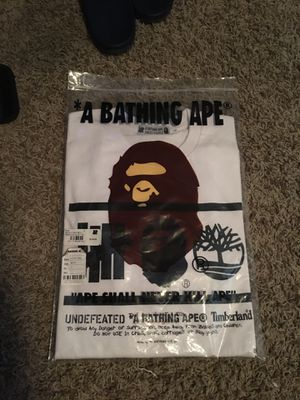 Bape tee size large long sleeve for Sale in Vacaville, CA
