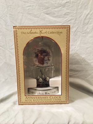 Anniversary Clock with Westminster Chime (Snowman) for Sale in Phoenix, AZ