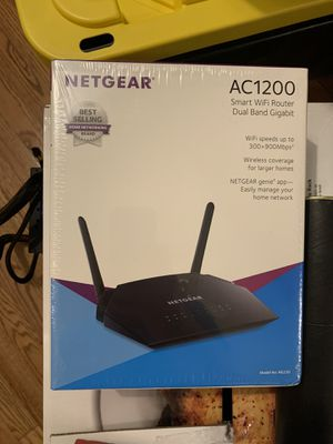 Netgear AC1200 Wireless Router for Sale in Chicago, IL