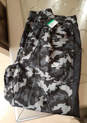 Men's Nike NSW Black Camo Woven Track Pants for Sale in Chula Vista, CA