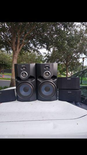SONY...SPEAKERS ($25) for Sale in Boynton Beach, FL