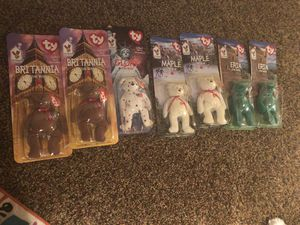 Ty world beanie baby collection in packaging for Sale in Redmond, WA