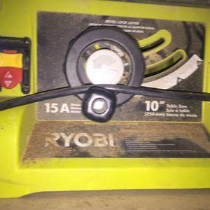 """Ryobi table saw 10"""" for Sale in Denver, CO"""