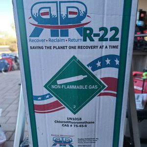 R22 Freon GREEN canister, 25lb for Sale in Mesa, AZ