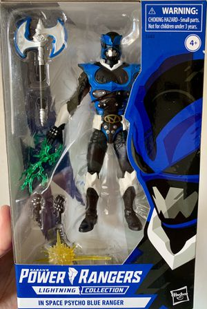 Power Rangers Lightning Collection Exclusive Psycho Blue Ranger Figure for Sale in Fresno, CA