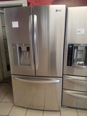 Three door refrigerator for sale for Sale in Houston, TX