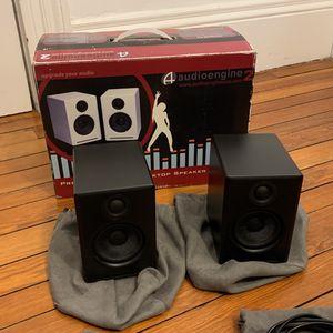 Audioengine 2 Desktop Speaker System - Excellent Condition for Sale in Cleveland, OH