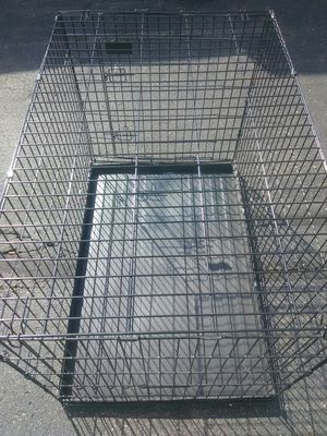 XXL Dog crate available now commercial grade heavy duty new excellent condition Free delivery for Sale in Philadelphia, PA
