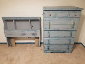 Dresser, Headboard & Bed Frame for Sale in Universal City, TX
